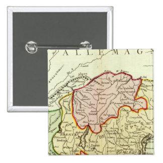 La Croatie, Slovénie, Italie Badge
