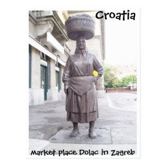 La Croatie - Zagreb Carte Postale