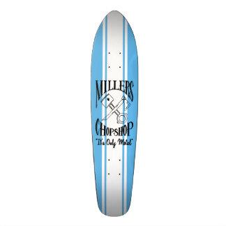 La croix classique désosse le logo skateboards customisés