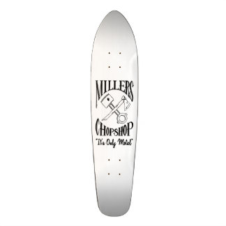 La croix classique désosse le logo skateboard old school 18,1 cm