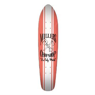 La croix classique désosse le logo skateboard old school  21,6 cm