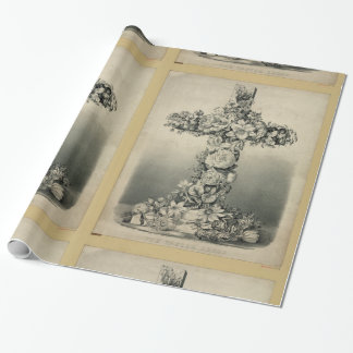 La croix de Pâques par Ives 1869 Papier Cadeau