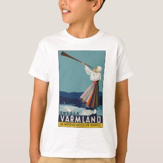 La Cru-Voyage-Affiche-Suède T-shirts