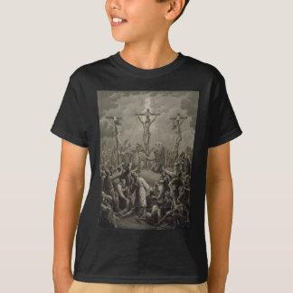 La crucifixion du Christ meurent Kreuzigung Jesu T-shirt
