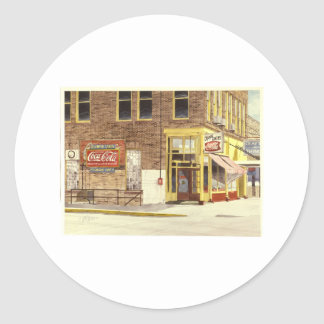 La cuisine de sucrerie d'Olympia Autocollants Ronds