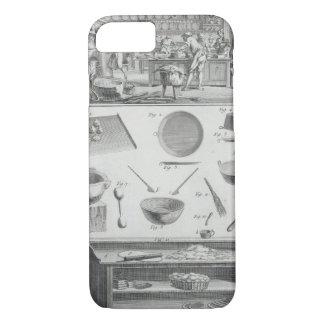 La cuisine et l'équipement d'un boulanger, du coque iPhone 7