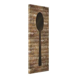La cuisine exprime l'art III Toiles