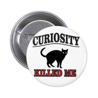 la curiosité est un vilain défaut badge