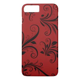 La damassé victorienne, ornements, tourbillonne - coque iPhone 7 plus