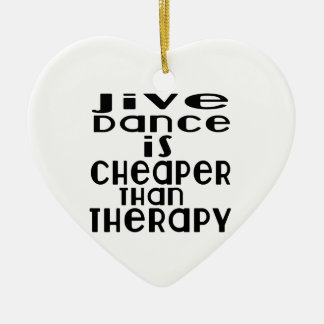 La danse bidon est meilleur marché que la thérapie ornement cœur en céramique