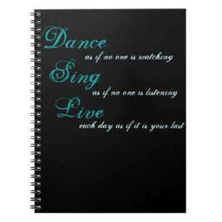 La danse chantent vivant… carnets