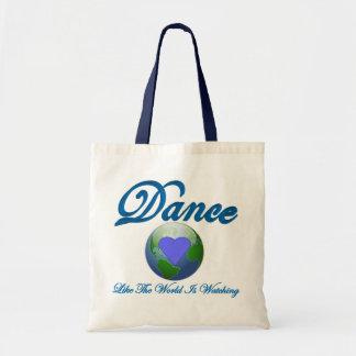 La danse comme le monde observe sacs