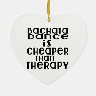 La danse de Bachata est meilleur marché que la Ornement Cœur En Céramique