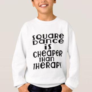 La danse de danse carrée est meilleur marché que sweatshirt
