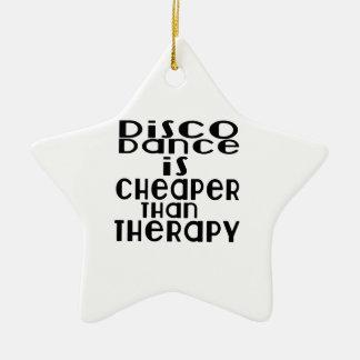 La danse de disco est meilleur marché que la ornement étoile en céramique