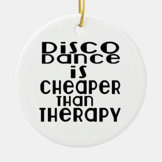 La danse de disco est meilleur marché que la ornement rond en céramique