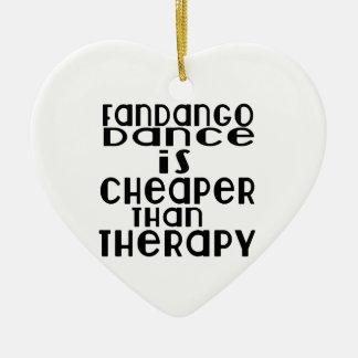 La danse de Fandango est meilleur marché que la Ornement Cœur En Céramique