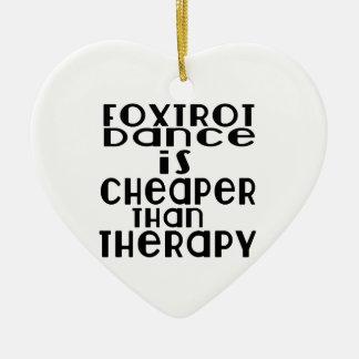 La danse de fox-trot est meilleur marché que la ornement cœur en céramique