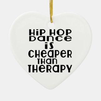 La danse de hip hop est meilleur marché que la ornement cœur en céramique
