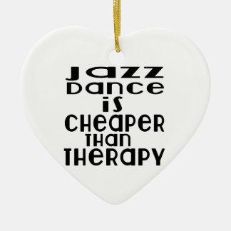 La danse de jazz est meilleur marché que la ornement cœur en céramique