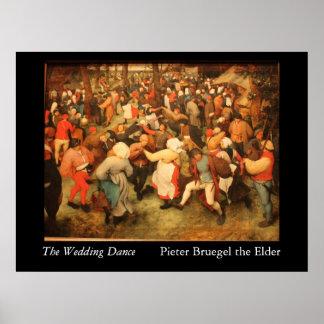 La danse de mariage - 1566 posters