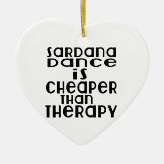 La danse de Sardana est meilleur marché que la Ornement Cœur En Céramique