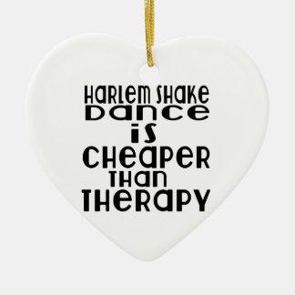 La danse de secousse de Harlem est meilleur marché Ornement Cœur En Céramique