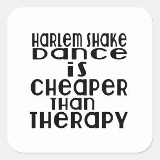La danse de secousse de Harlem est meilleur marché Sticker Carré