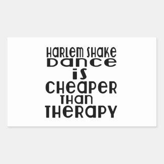 La danse de secousse de Harlem est meilleur marché Sticker Rectangulaire