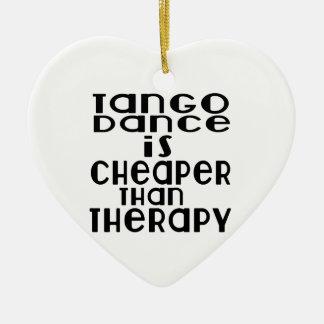 La danse de tango est meilleur marché que la ornement cœur en céramique