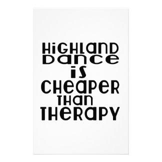 La danse des montagnes est meilleur marché que la papeterie