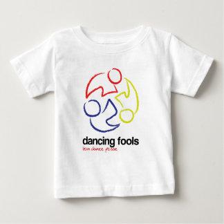 La danse dupe (logo seulement, lumière -- t-shirt pour bébé