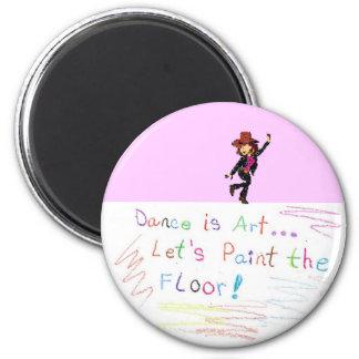 la danse est aimant d'art