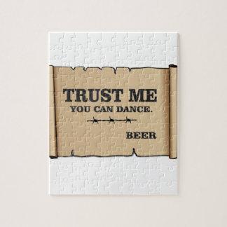 la danse indique la bière puzzle
