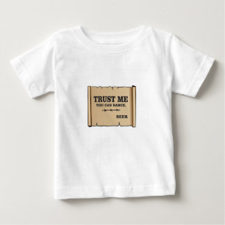 la danse indique la bière t-shirt pour bébé