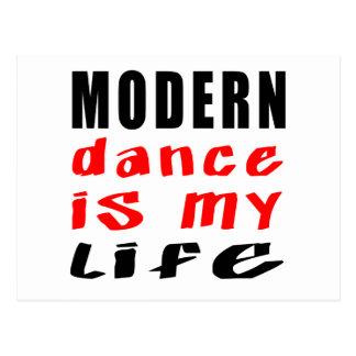 La danse moderne est ma vie cartes postales