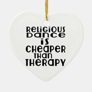 La danse religieuse est meilleur marché que la ornement cœur en céramique