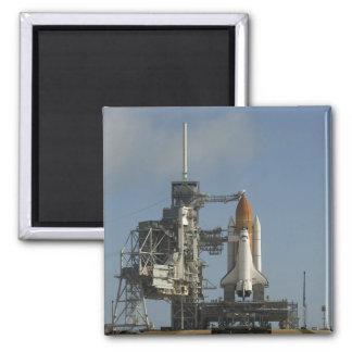 La découverte de navette spatiale repose 2 prêts magnet carré