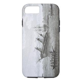 La découverte sur les roches dans la Reine Coque iPhone 7