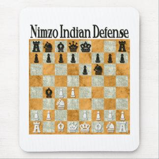 La défense Nimzo-Indienne Tapis De Souris