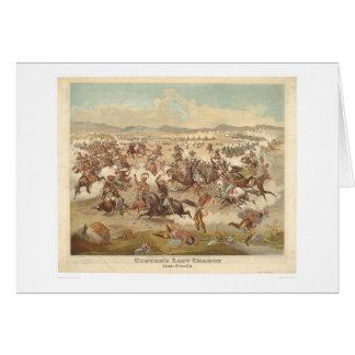La dernière charge de Custer (0481A) Cartes