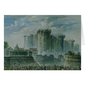 La destruction de la bastille, le 14 juillet 1789 cartes