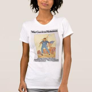 La deuxième guerre mondiale de jardin de guerre t-shirt