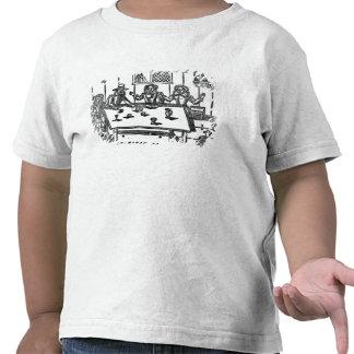 La deuxième partie d'un petit Barly-Corne T-shirt