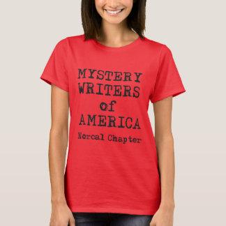 La douille courte de la femme de T-shirt de MWA