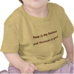 La dunette est mes affaires, et les affaires sont  t-shirts