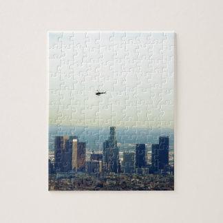 LA et hélicoptère Puzzle