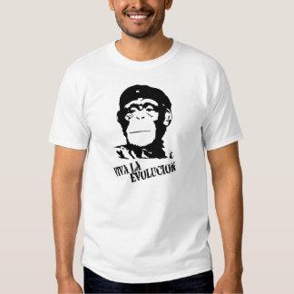La Evolucion - chimpanzé de vivats T-shirt