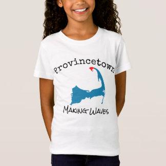 La fabrication de masse de Provincetown ondule T-Shirt