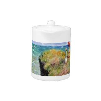 La falaise de Pourville de Claude Monet